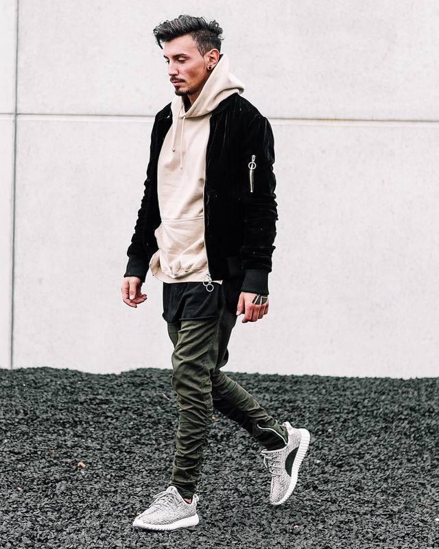 69228d8c New Mens Joggers Pants High Quality Fashion Army Green Zipper Men Trousers  Drawstring Streetwear Hip Hop Jogger Pants M-XXL