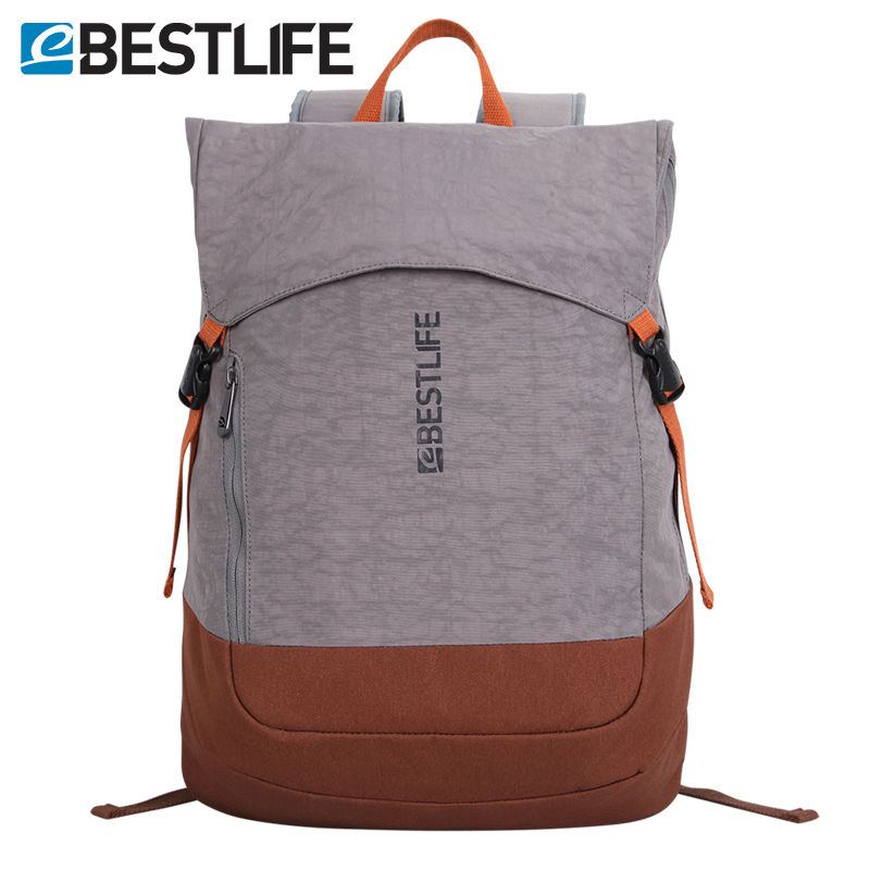 "BESTLIFE Weightlight Slim Urban Travel Ryggsäck Flip Cover Ryggsäck 15.6 ""Laptop Daypack Män Kvinnor Tonårs- Boys College School"
