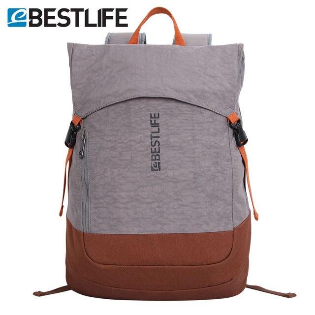 Bestlife Weightlight Slim Urban Travel Backpack Flip Cover Knapsack 15 6 Laptop Daypack Men Women Ager