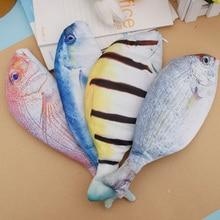Case Box Stationery Gifts Fish-Shape Creative Kawaii School-Supplies Korea-Style 1pcs
