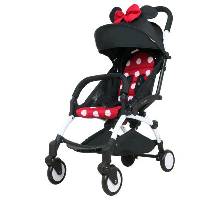 Baby stroller ultra portable umbrella car can sit on children cart folding baby car