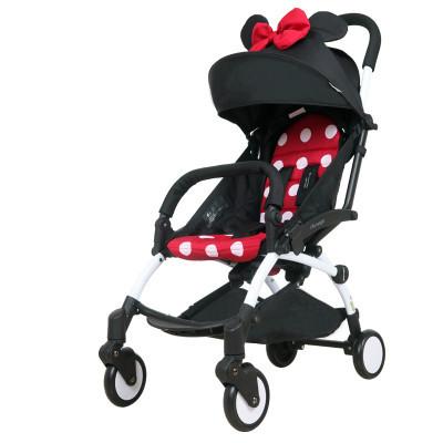 Carrinho de bebê ultra portátil de carro do bebê dobrável carrinho de guarda-chuva carro pode sentar em crianças