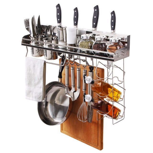 Buy lifewit space save kitchen cookware racks stainless steel kitchen storage - Dish rack for small space collection ...