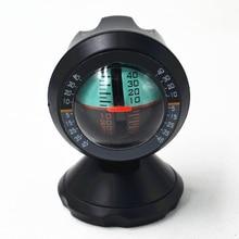 Car Leveling Instrument Car Level  Compass Outdoor Slope Meter Declinator