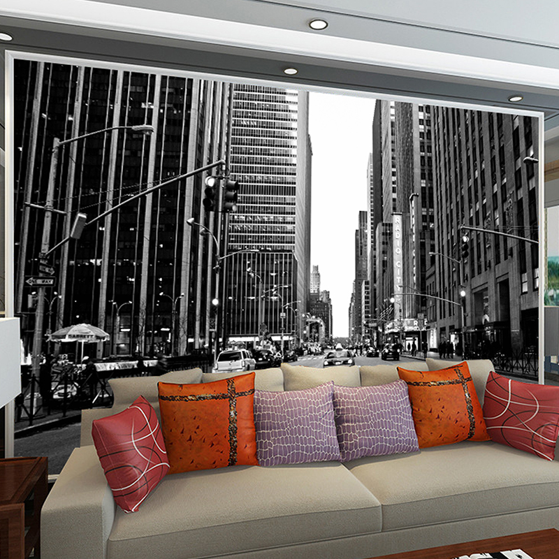 3 d photo wall mural greyscale wallpapers for living room famous