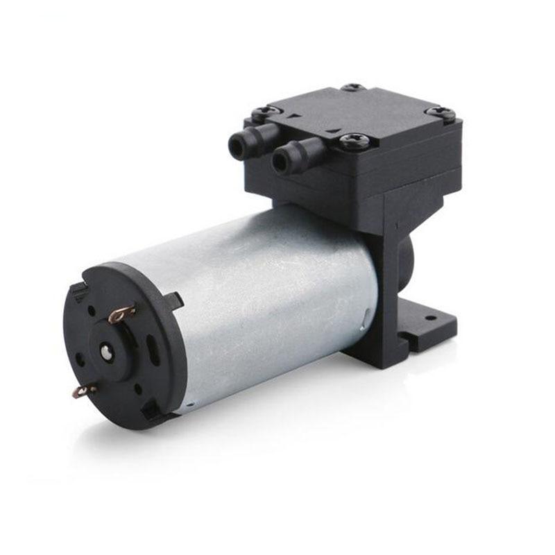 New 1.1L/M Dc 12V Electric Diaphragm Brushless Mini Vacuum Pump Motor Low Pressure High Flow Air Pump Max Vacuum -60kPa