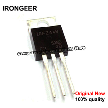 5 قطعة IRFZ44N IRFZ44 IRFZ44NPBF MOSFET MOSFT 55V 41A 17.5 موهم 42nC إلى 220 جديد الأصلي