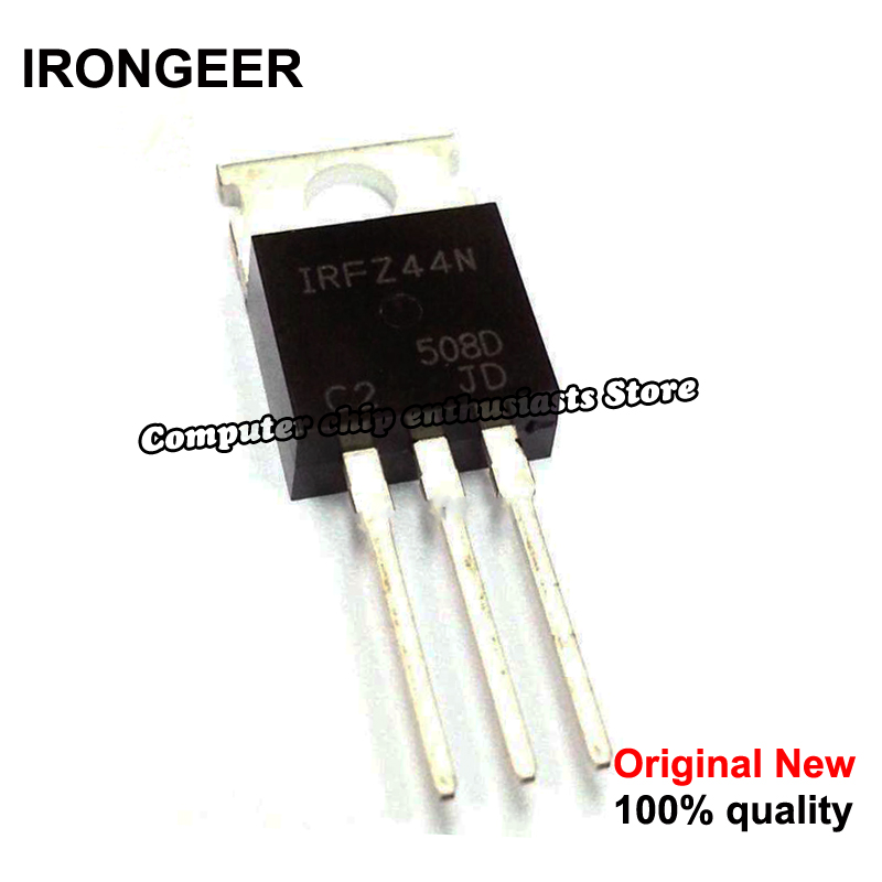 5pcs  IRFZ44N IRFZ44 IRFZ44NPBF MOSFET MOSFT 55V 41A 17.5mOhm 42nC TO 220 new original-in Circuits from Consumer Electronics