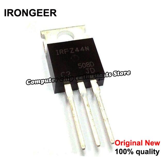5pcs  IRFZ44N IRFZ44 IRFZ44NPBF MOSFET MOSFT 55V 41A 17.5mOhm 42nC TO 220 new original