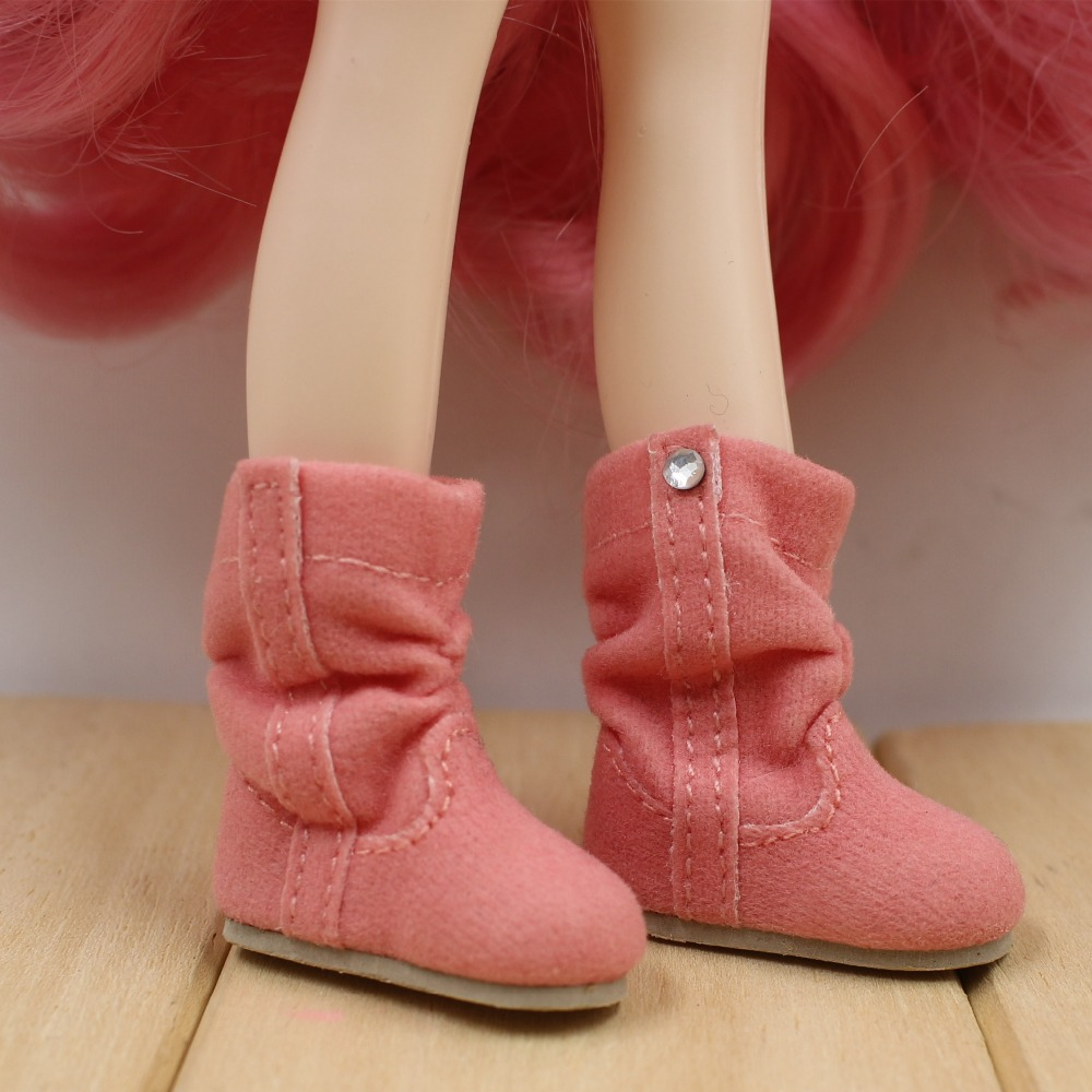 Neo Blythe Doll Soft Boots with Crystal 2