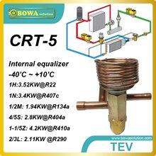 CRT-5 R404a 2.76KW мощность охлаждения внутреннего ТЭВ с ODF соединение труб работает на воздушного охлаждения в супермаркет