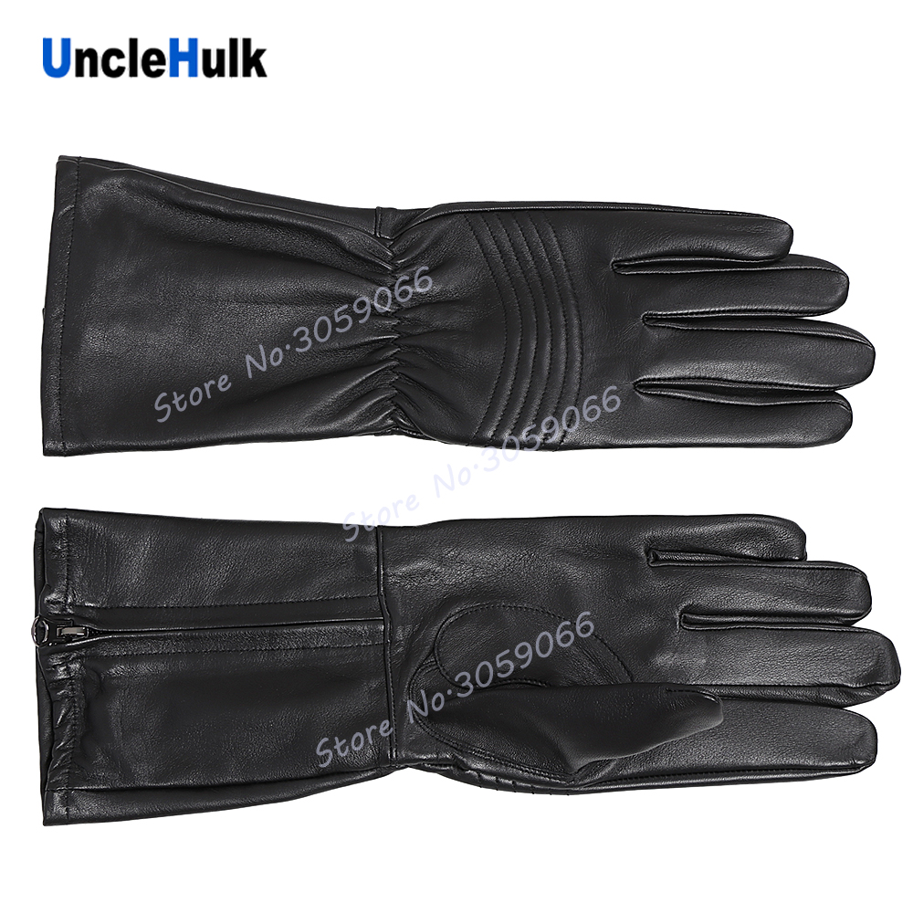 Super Sentai's Genuine Leather Gloves Cosplay Props Masked Rider Gloves   one size only  UncleHulk-in Movie & TV costumes from Novelty & Special Use    3