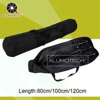 Alumotech 80cm/100cm/120cm Portable Carry Bag for Tripod Photography Light Studio Equipment Case Fresh Lighting Kit