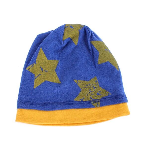 Unisex Kids Boys Hats Baby Boys Girls Beanie Hat Cartoon Pentagram Cap