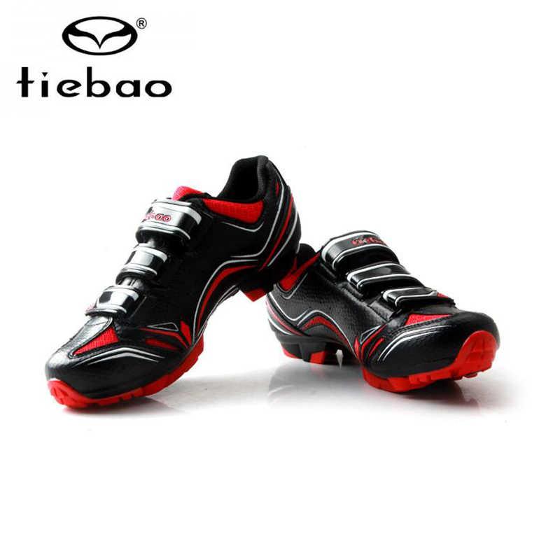 تييباو الرجال دراجة هوائية جبلية sapatilha ciclismo ام تي بي دي spd الدواسات الأحذية تنفس الذاتي قفل دراجة ركوب ciclismo الترياتلون الأحذية