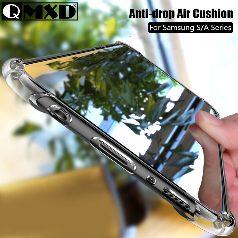 Clear Silicone Shockproof Phone Case For Samsung Galaxy S10 E S9 S8 S10 Plus S7 A10 A20 A30 A40 A50 A60 A70 A80 A90 Back Cover