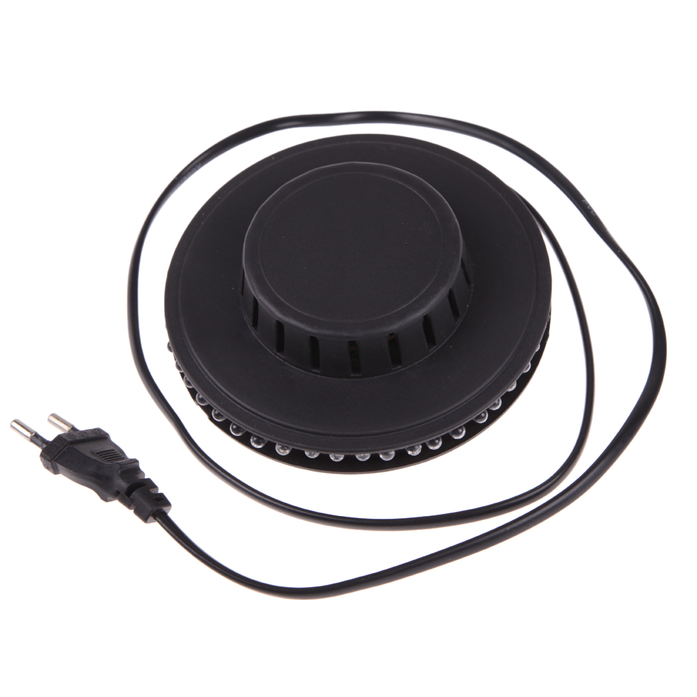 8W 90V-240V 48LED Rotating LED RGB Bulb Party Effect Bulb Lamp Disco DJ KTV Bar Stage Light