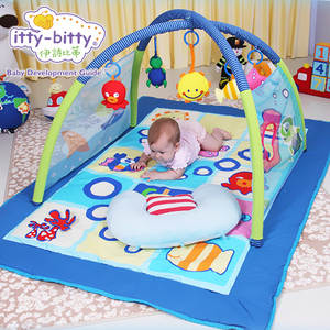 Itty-bitty Ocean Music Play Mat Fold Activity Gym Game Toys