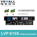 vdwall lvp615s+2 pc novastar sender msd300 video processor scaler PRICE for full color RGB LED display video screen wall