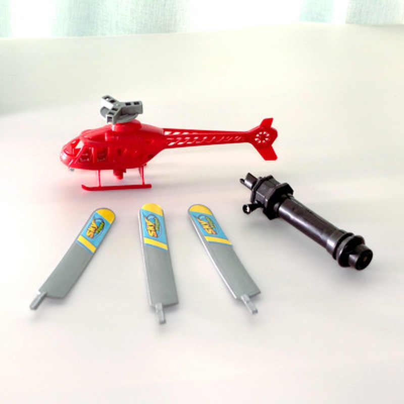 Anak-anak Baru Pegangan Pesawat Penerbangan Lucu Mainan Helikopter untuk Anak Bayi Bermain Hadiah Model Pesawat Helikopter