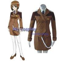 Mahou Shoujo Magical Girl Lyrical Nanoha Mobile Section 6 Cosplay Costume Freeshipping
