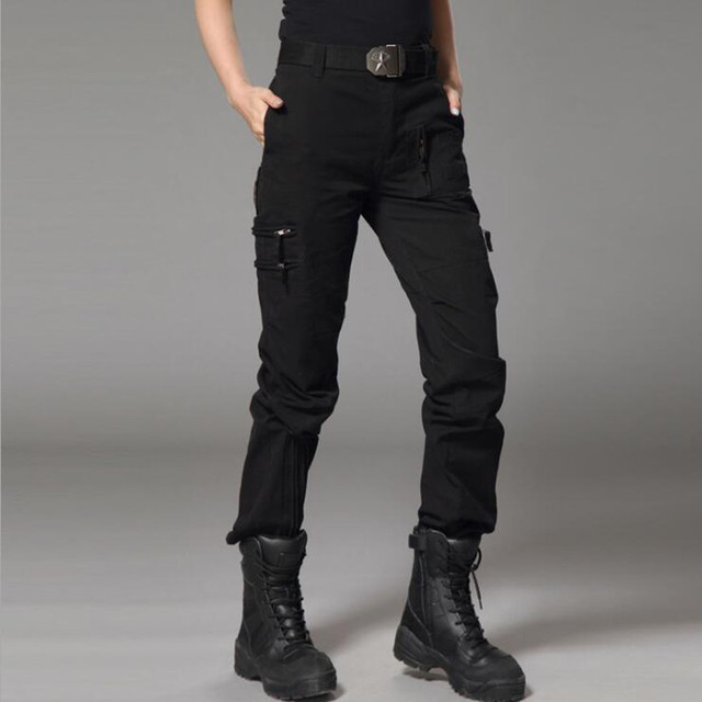 Amazoncom black cargo pants for women Clothing Shoes