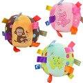 Alta Qualidade Do Bebê Chocalhos Brinquedos Infantis Apaziguar Bola Soft & Inodoro Macaco Gato Sapo