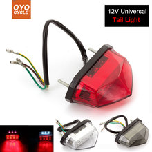 Motorcycle 12V Tail Light Motos Led Stop Signal Lamp Motorbike Light For Ducati Monster 1098 848 696 900 821 749 748 1199 s2r nicecnc steering stabilizer damper for bmw s1000rr r800gs r1200gs ducati 749 999 hypermotard 796 821 848 1098 monster 696 1100
