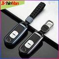 Блестящий Модный Сплав 2 3 кнопки ключ чехол для автомобиля чехол для Mazda CX-4 CX4 CX-5 CX5 CX-7 CX-9 Atenza MX5 аксессуары для ключей