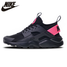size 40 2be37 70d45 Nike Air Huarache Run Ultra 4 Sneakers Sports Shoes Black Pink Running Shoes  For Men And