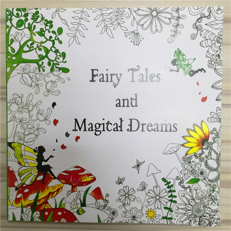 Fairy Tales And Magical Dreams Coloring Book For Adult