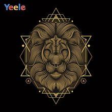Обои yeele для фотосъемки с изображением львиного салона Декор