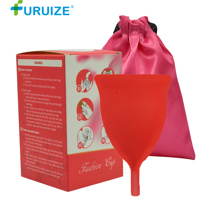 2pcs Best women Cup Medical Grade Silicone Lady Cup copa menstrual Hygiene Product Menstrual cup Women Health Care Menstrual cup