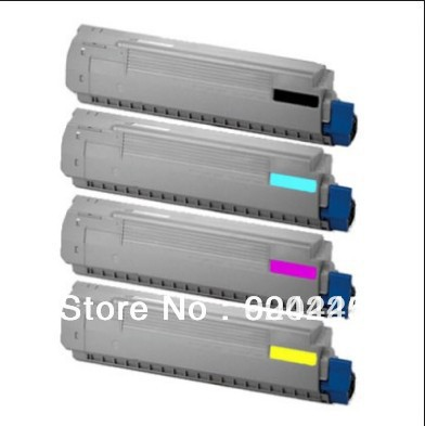 2017 FREE Shiping compatible color copier toner cartridge Used for OKI C810 C830 BK C M
