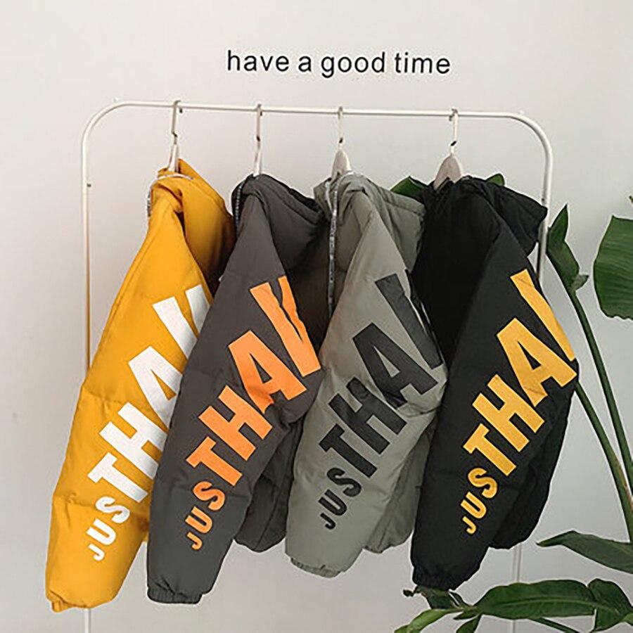 Ropa amarillo Abrigo Impresa Pan 50nx75 Carta Los Hiver Manteau Streetwear De Hombres 2019 Homme Burbuja Parka gris Nueva Chaqueta verde Invierno Negro WTq1PccFaw