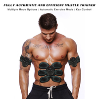 Rechargeable Wireless Abdominal Muscle Trainer Stimulator Exercise Fitness Massage Pad Fitness Slimming Body Sculptor Fat Burner