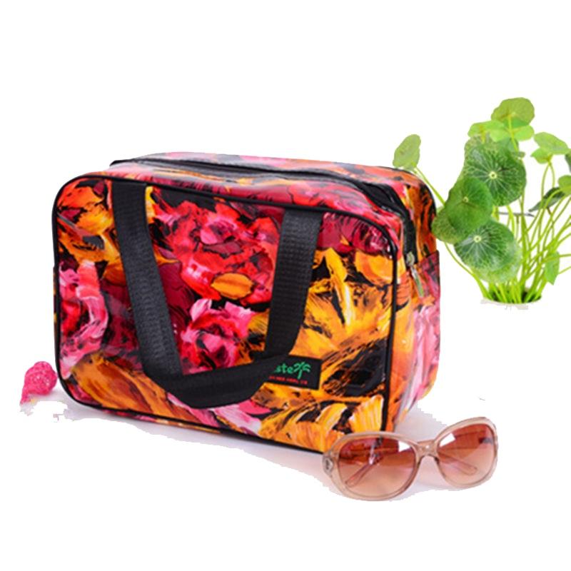 New elegant so beautiful!large capacity cosmetic bag Portable small fashion makeup bag