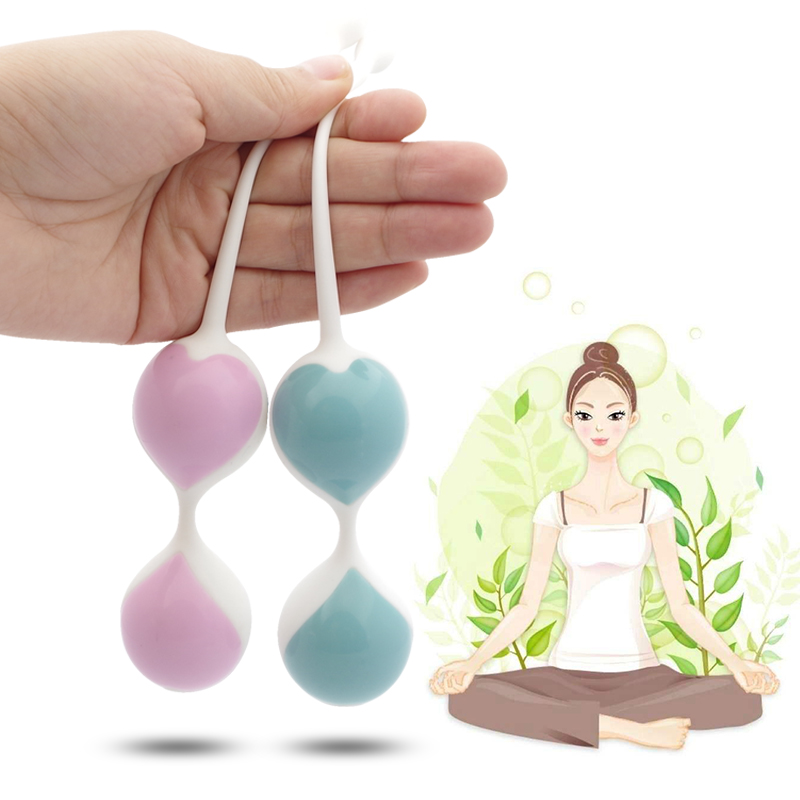 Silicone Kegel Balls Vaginal Tightening Exercise Ball Waterproof Love Egg Waterproof Smart Love Ben Wa Balls Sex Toys For Women