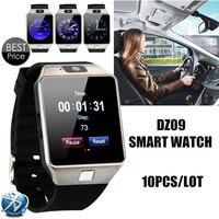 (10 יח'\חבילה) DZ09 Bluetooth Smart Watch עם מצלמה לסמסונג S5/הערה 2/3/4, נקסוס 6, Sony ואנדרואיד Smartphone אחר