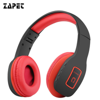 ZAPET Wireless Bluetooth Headphone Headset Portable HIFI Stereo Over Ear Comfortable With MIC For Iphone Xiaomi