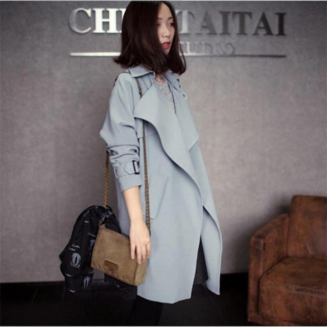 2017 nova marca clothing primavera revestimento das mulheres magro moda coreana blusão cor sólida jaqueta casual feminina outwear a2363