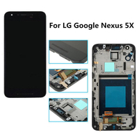 Replacement LCD Display Touch Screen With Digitizer Assembly Bezel Frame For LG Google Nexus 5X H790