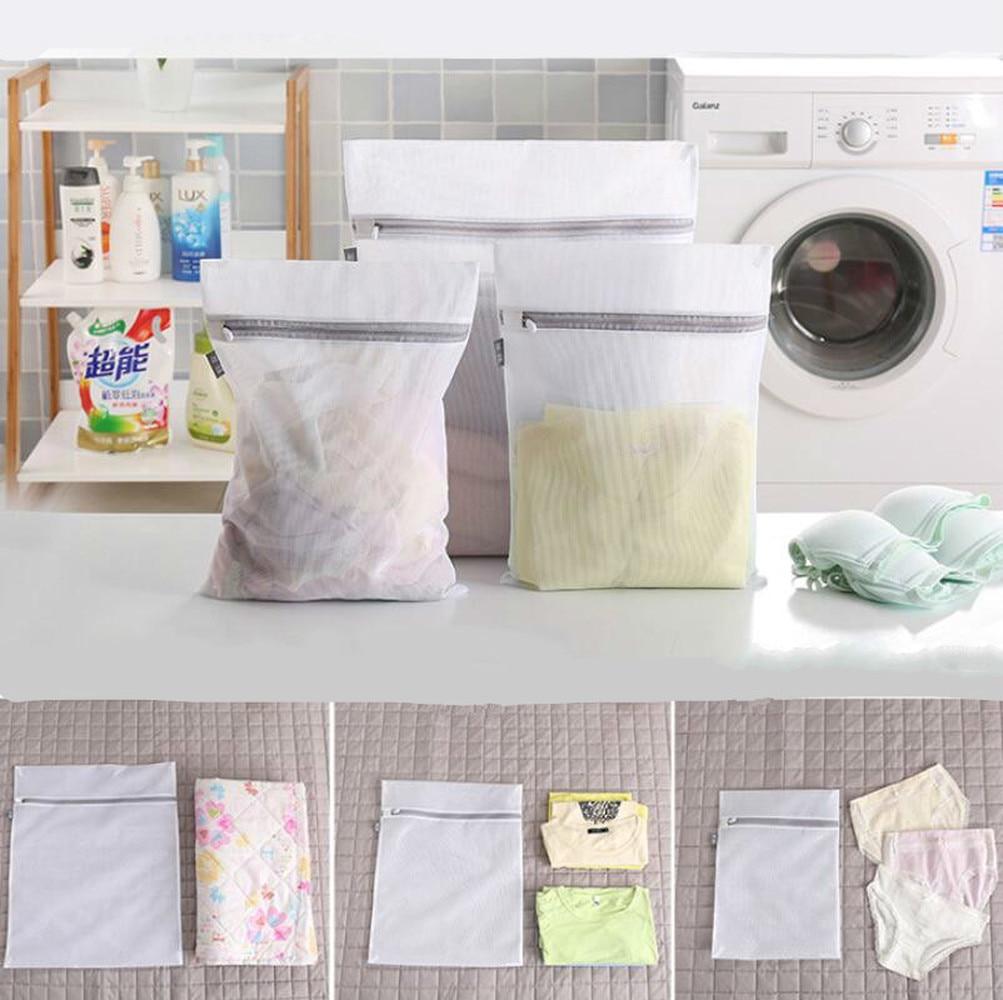 Washing Machine Mesh Bag Large Anti deformation Underwear Special Wash Bag Sweater Laundry Fine Mesh Laundry Bag in Laundry Bags Baskets from Home Garden