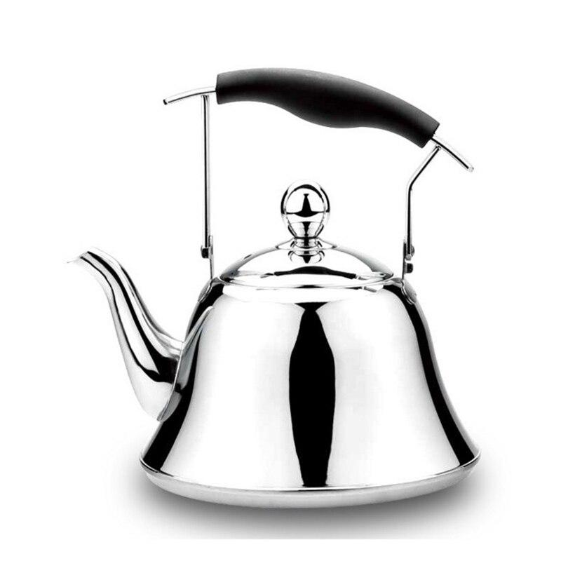 2018 Ограниченная серия новый чайник для газовой плиты Chaleira Bouilloire нержавеющая сталь свисток чайник бутылка воды 4L