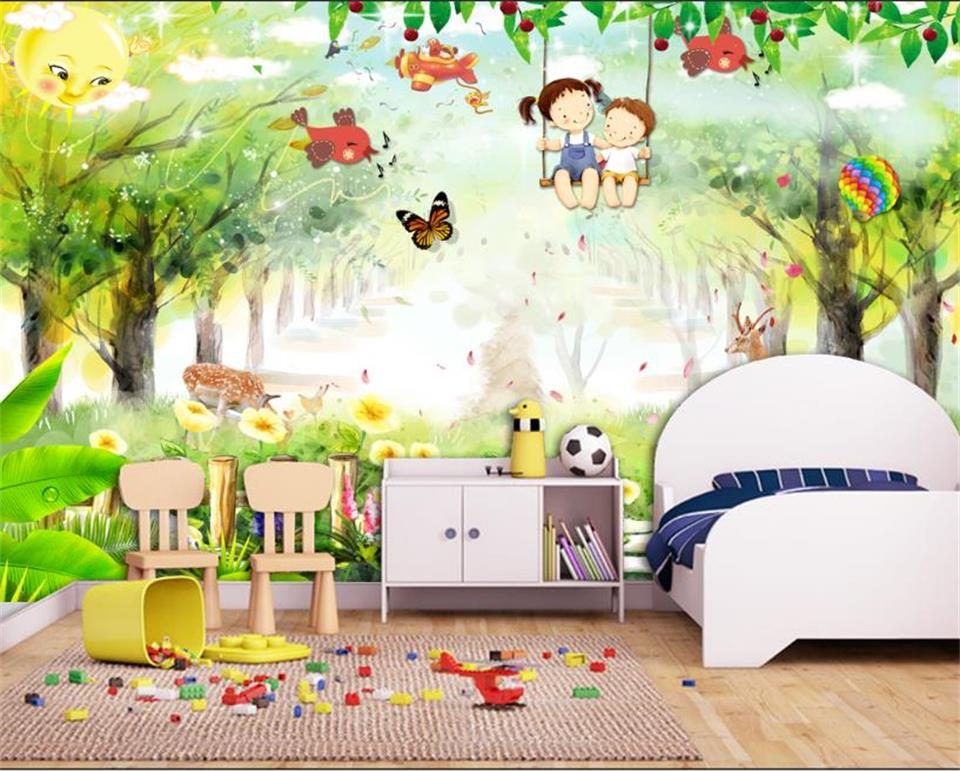 3d wallpaper photo wallpaper custom living room kids mural dreamland forest painting picture 3d wall mural wallpaper for wall 3d customize wallpaper for walls 3 d swan lake picture in picture 3d tv backdrop 3d photo wall mural 3d landscape wallpaper