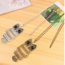 Korean Style Retro Owl Necklace