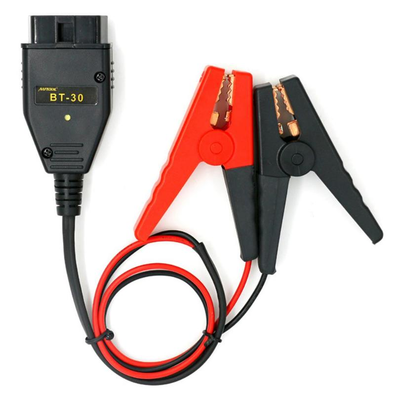 Cable Battery Memory-Saver Power-Supply-Cable AUTOOL BT-30 Emergency Car-Obd2-Ecu Replacement-Tool