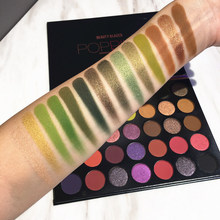 Beauty Glazed New Natural 35 Color Eyeshadow Palete Matte Shimmer Eye Shadow Palette Charming shadow Makeup Powder Cosmetics