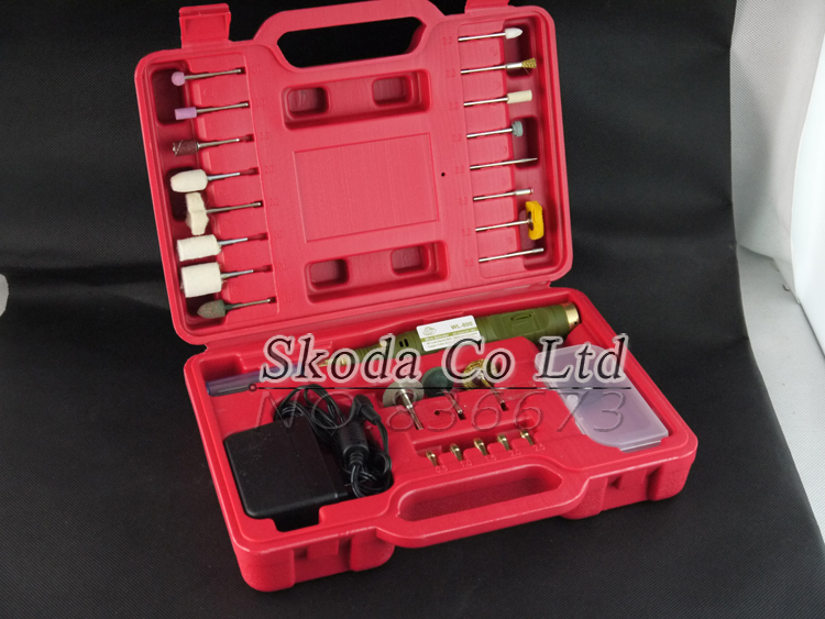 цена на Free shipping Mini electric drill+35pcs grinding accessories Engraving machine Mini electric grinder Electric tool set kit