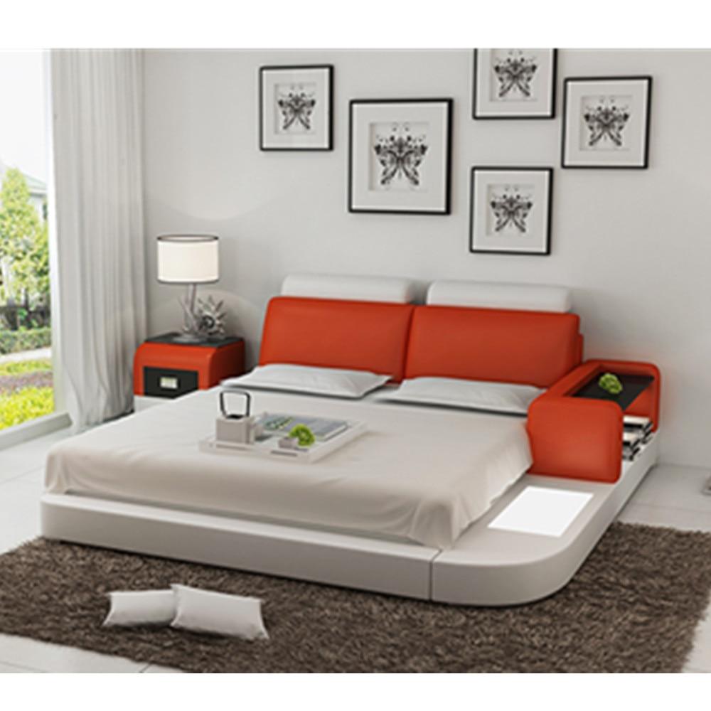 New Design European Style Bedroom Bed Design Furniture